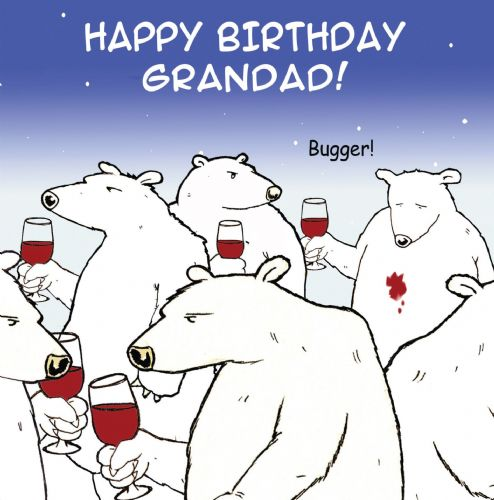 TW466 - Funny Grandad Birthday Card